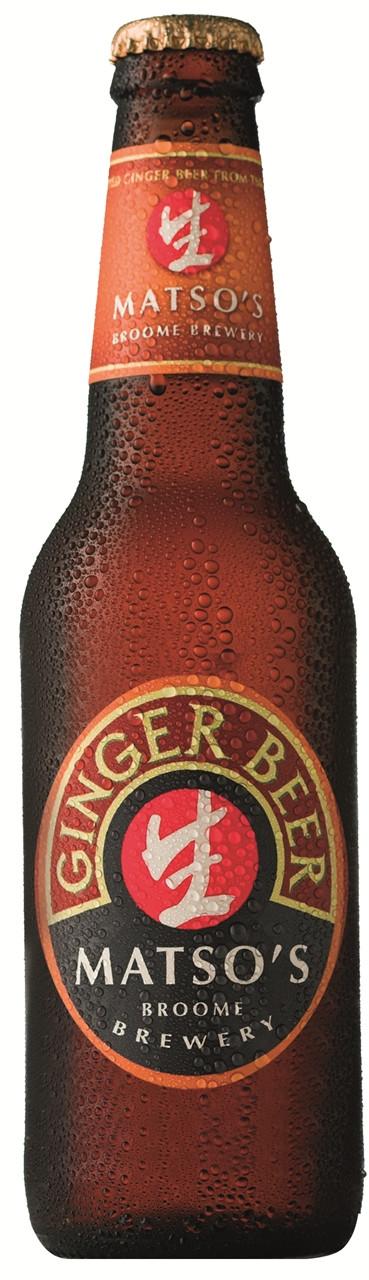 Matso's Alcoholic Ginger Beer 24 x 330ml Bottles