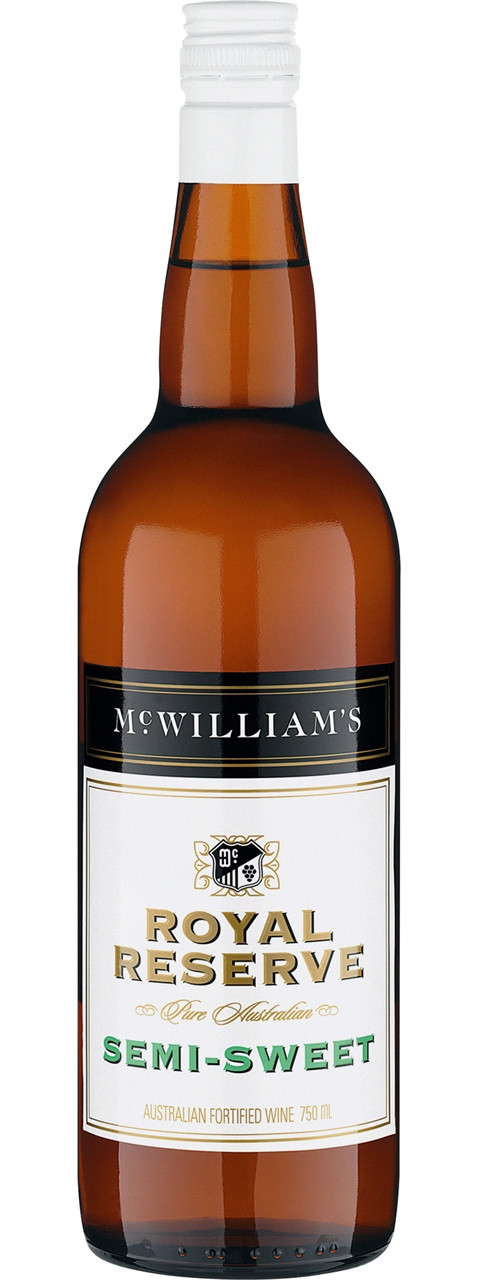 McWilliams Royal Reserve Semi-Sweet 750ml
