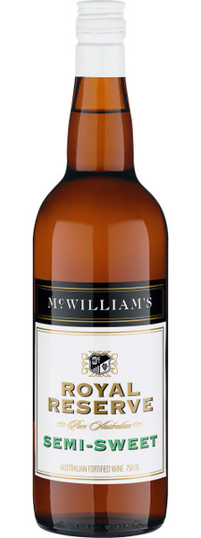 McWilliams Royal Reserve Semi-Sweet 750ml