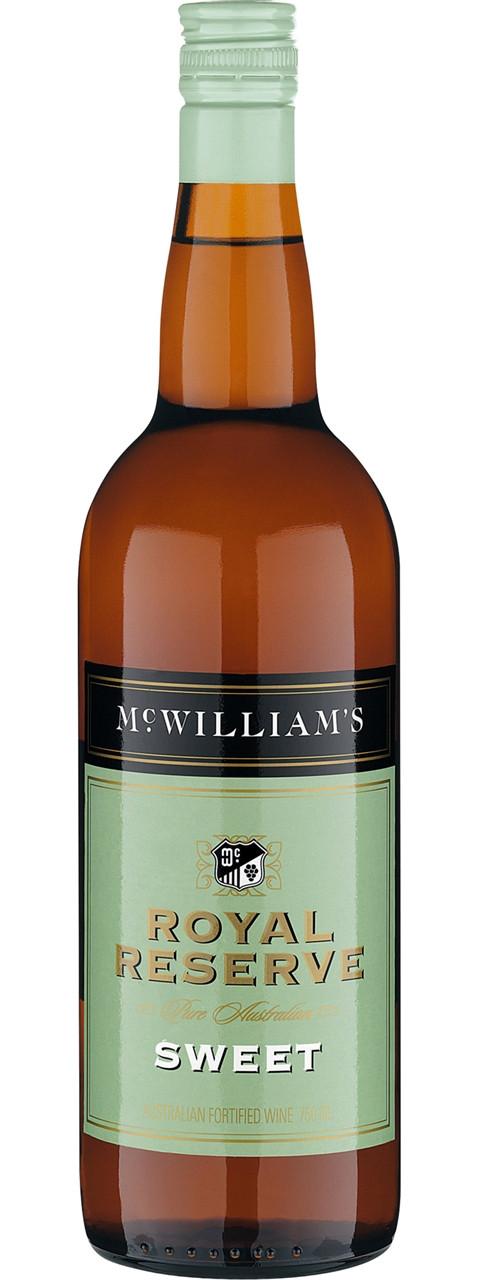 McWilliams Royal Reserve Sweet 750ml