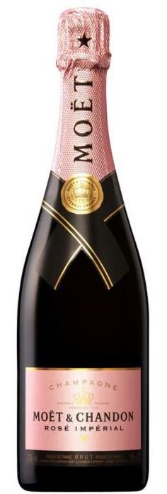 Moet et Chandon NV Rose Champagne 750ml