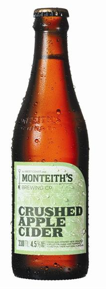 Monteith Crushed Apple Cider 24 x 330ml Bottles