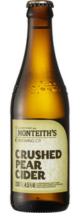 Monteith Crushed Pear Cider 24 x 330ml Bottles