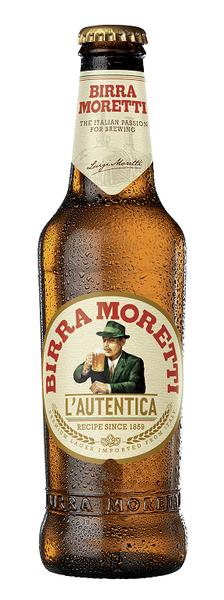 Moretti Beer 24 x 330ml Bottles
