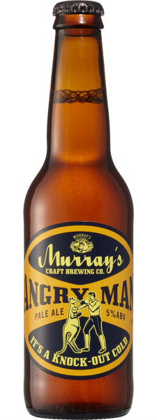 Murray's Angry Man Pale Ale 16 x 330ml Bottles
