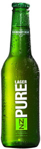 NZ Pure Lager 5% 24 x 330ml Bottles