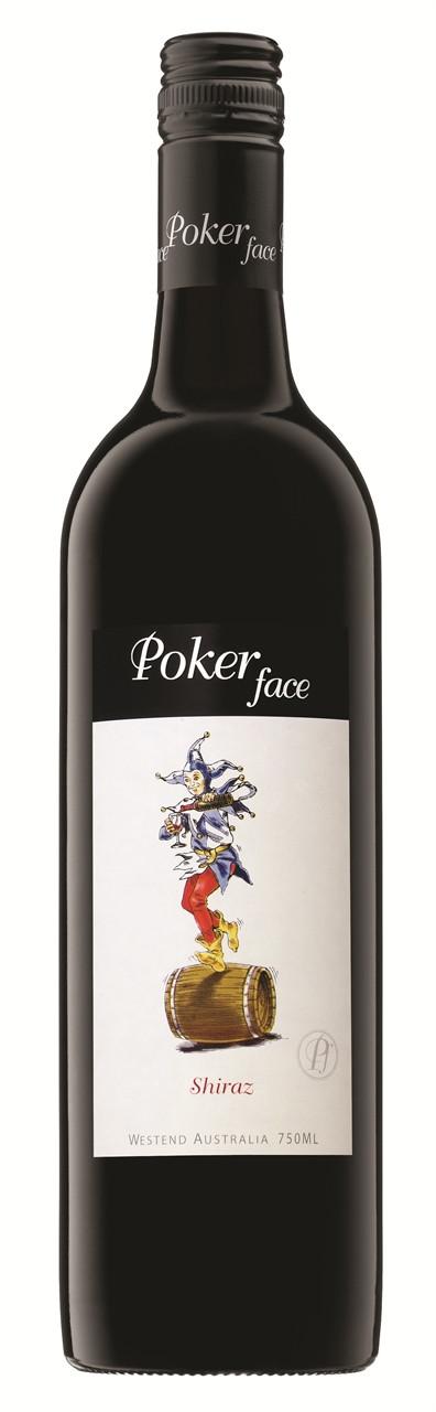 Poker Face Shiraz 750ml