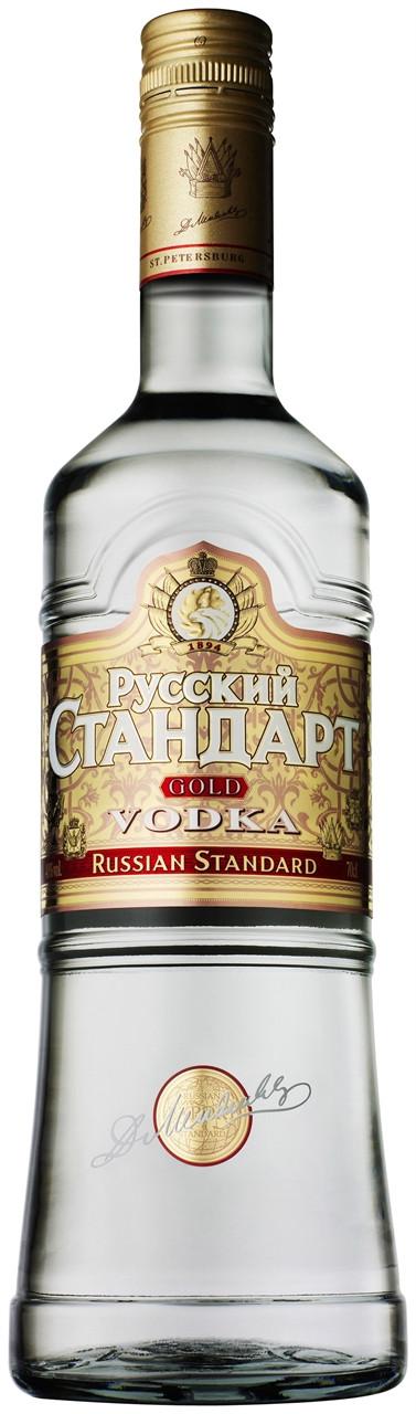 Russian Standard Gold Vodka 700ml