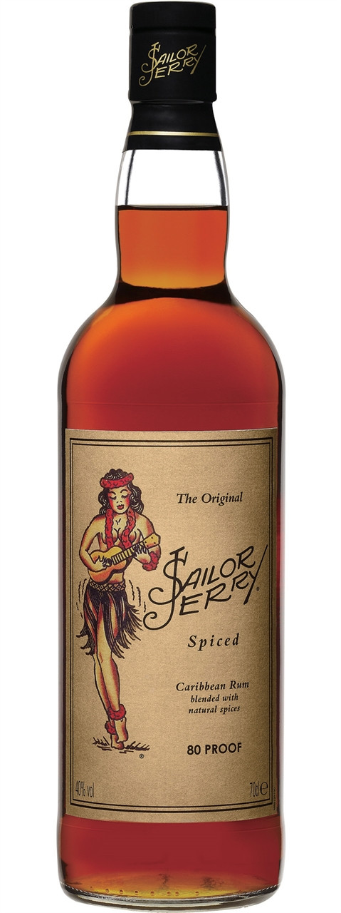 Sailor Jerry Spiced Caribbean Rum 700ml