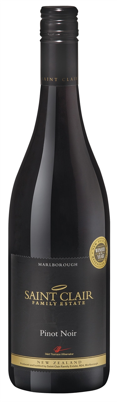 Saint Clair Marlborough Pinot Noir 750ml