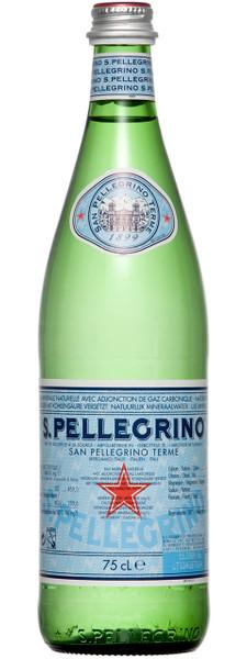 San Pellegrino Sparkling Mineral Water 12 x 750ml Bottles