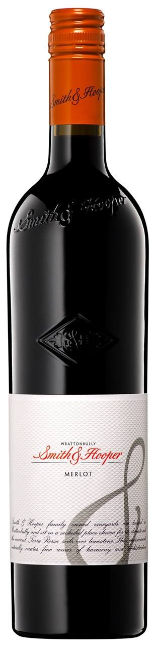 Smith & Hooper Wrattonbully Merlot 750ml