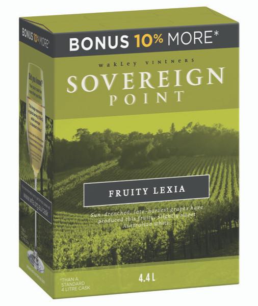 Sovereign Point Fruity Lexia 4 x 4.4lt Casks