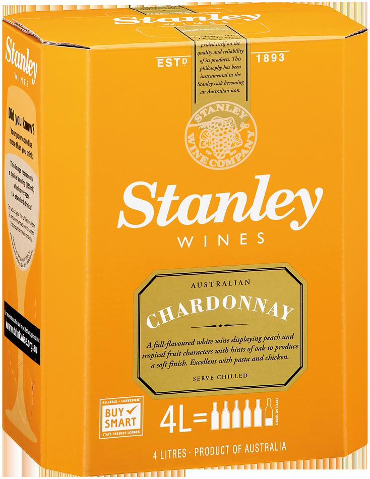 Stanley Chardonnay 4lt Cask Ourcellarcomau