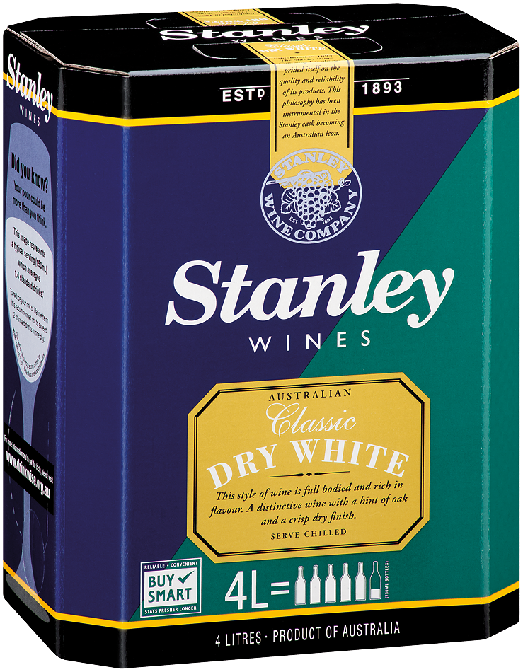 Stanley Classic Dry White 4lt Cask