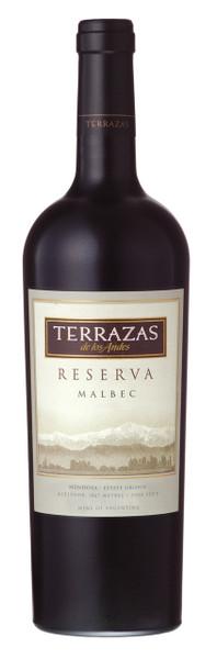Terrazas de los Andes Reserva Malbec 750ml