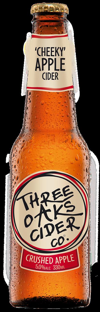 Three Oaks Original Cider 24 x 330ml Bottles