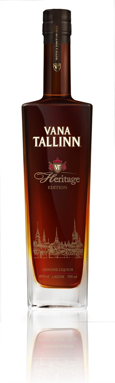 Vana Tallinn Estonian Liqueur Heritage Edition 500ml Bottle
