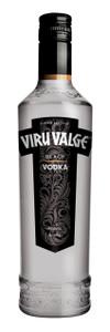 Viru Valge Estonian Black Vodka 500ml Bottle