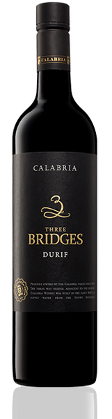 Calabria 3 Bridges Durif 750ml