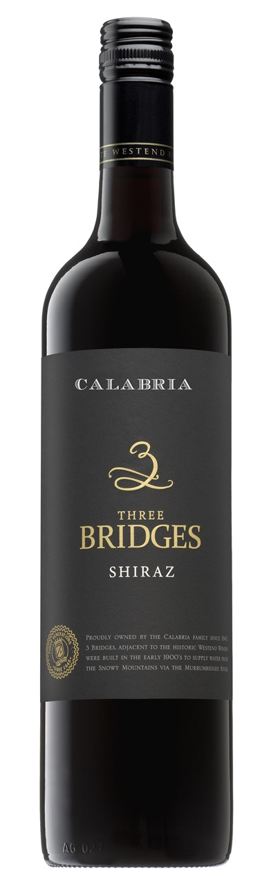 Westend 3 Bridges Shiraz 750ml