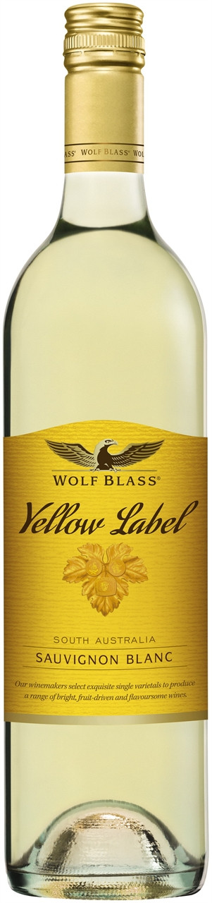 Wolf Blass Yellow Label Sauvignon Blanc 750ml