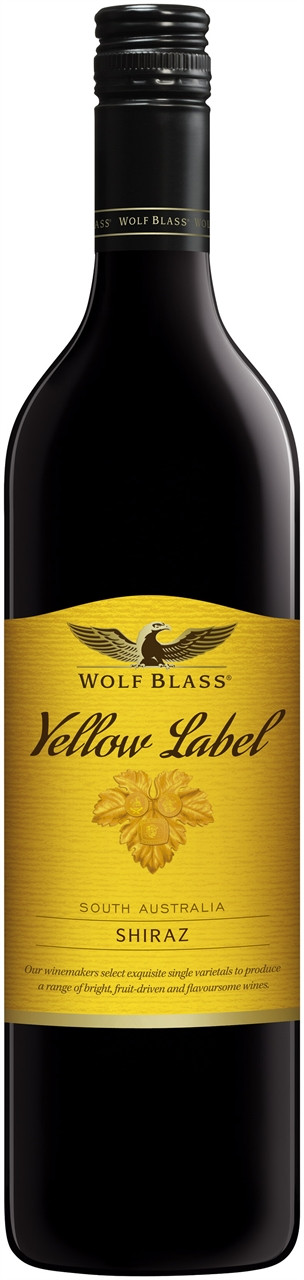 Wolf Blass Yellow Label Shiraz 750ml