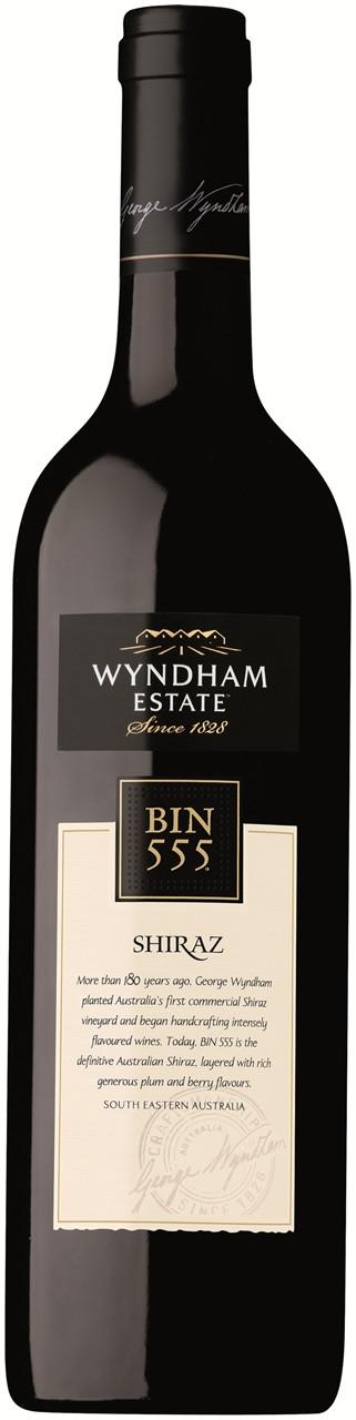 Wyndham Estate Bin 555 Shiraz 750ml