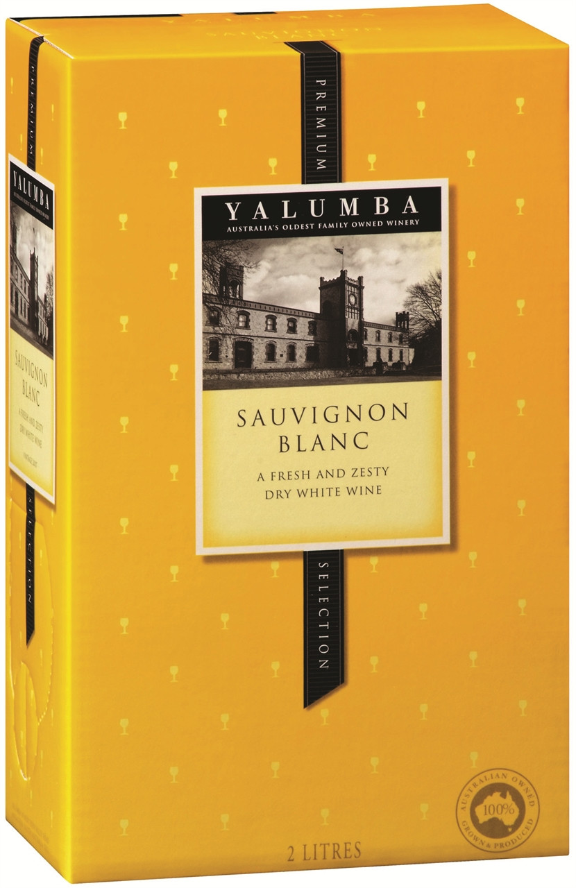 Yalumba Premium Selection Sauvignon Blanc 2lt Cask