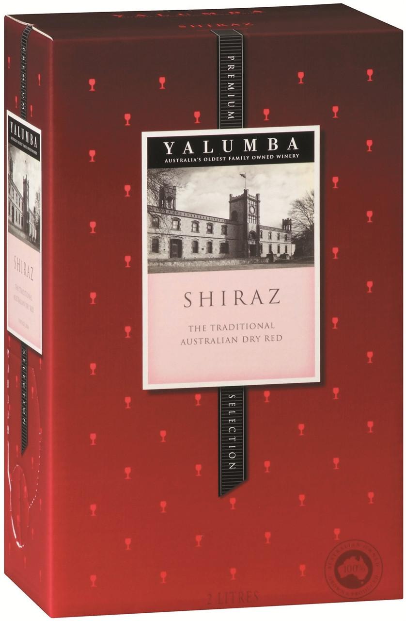 Yalumba Premium Selection Shiraz 2lt Cask