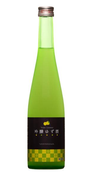 Yoshinogawa Yuzu Sake 500ml