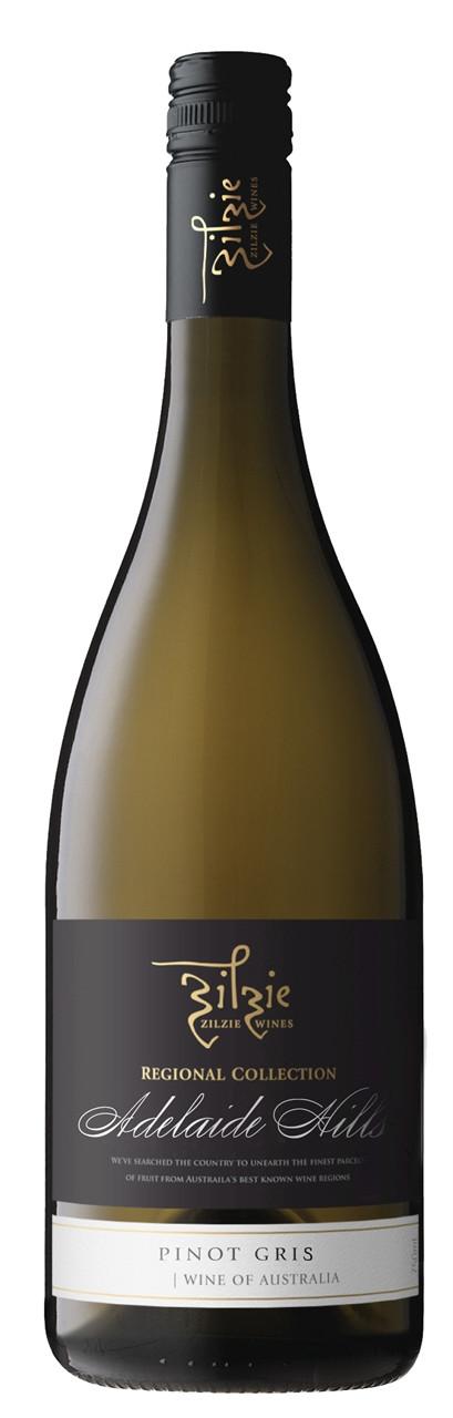 Zilzie Regional Collection Adelaide Hills Pinot Gris  750ml