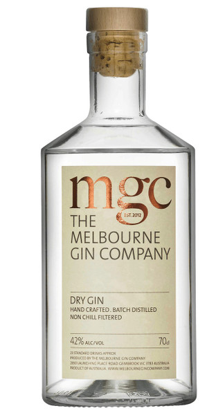 Melbourne Gin Company Dry Gin 700ml