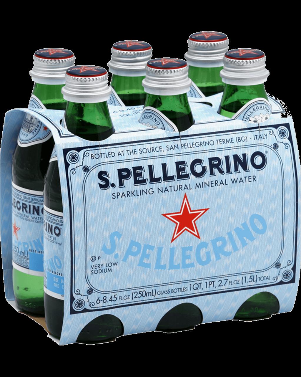 San Pellegrino Sparkling Mineral Water 24 x 250ml Bottles