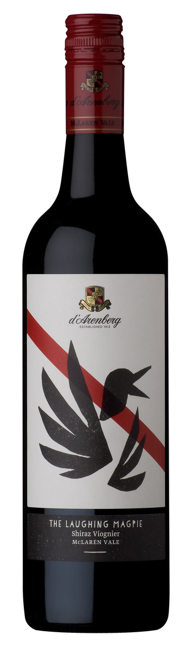 d'Arenberg The Laughing Magpie Shiraz Viognier 750ml