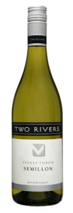 Two Rivers Stone's Throw Hunter Valley Semillon 750ml (2 Trophies, 3 Golds)