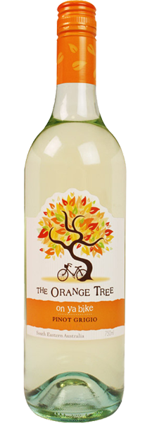 The Orange Tree 'On Ya Bike'  Pinot Grigio 750ml