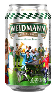 Weidmann German Lager 24 x 330ml Cans