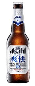 Asahi Soukai 3.5% Mid Strength 24 x 330ml Bottles