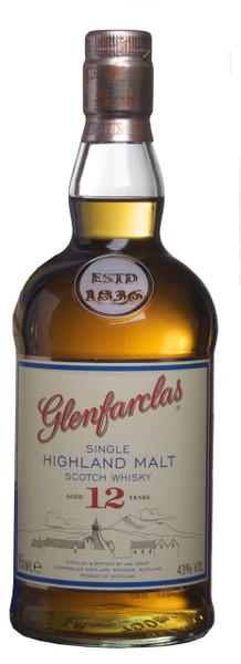Glenfarclas 12 Year Old Single Highland Malt Scotch Whisky 700ml