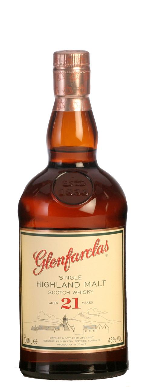 Glenfarclas 21 Year Old Single Highland Malt Scotch Whisky 700ml