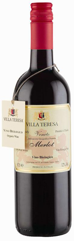 Villa Teresa Organic Merlot 750ml