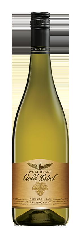 Wolf Blass Gold Label Adelaide Hills Chardonnay 750ml