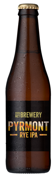 Sydney Brewery Pyrmont Rye IPA 24 x 330ml Bottles