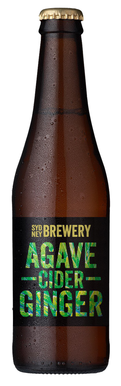 Sydney Brewery Agave Ginger Cider 24 x 330ml Bottles