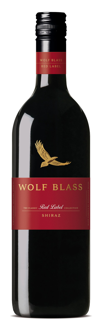 Wolf Blass Red Label Shiraz 750ml