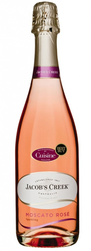 Jacobs Creek Sparkling Moscato Rose 750ml