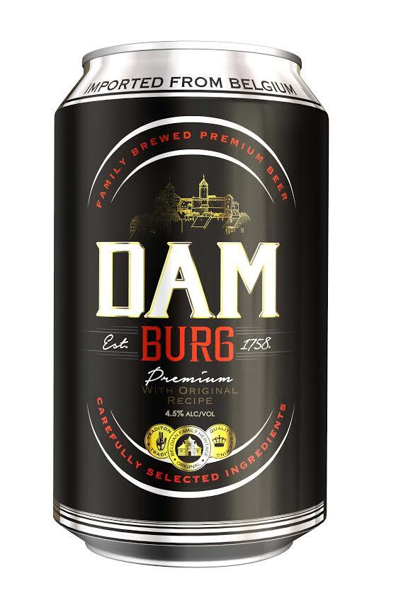 DAM Burg Premium Lager 4.5% 30 x 330ml Cans