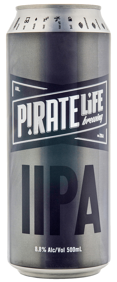 Pirate Life Brewing Double IPA 16 x 500ml Cans