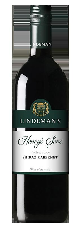 Lindemans Henry's Sons Shiraz Cabernet 750ml